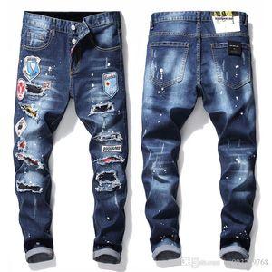 2020 neue Art und Weise Tide Markemens-Hosen kleine Füße Hosen koreanische Ausgabe Jugend Minimalism Jeans Hohe Qualität und Exquisite1019 #