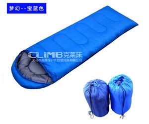 Outdoor Schlafsäcke Warming Einzelschlafsack beiläufige wasserdichte Decke Umschlag Camping Reise Wandern Decken Schlafsack 1.9kg