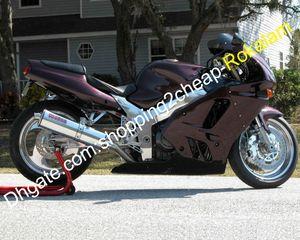 Para Kawasaki Ninja ZX9R 94 95 96 97 ZX9R ZX 9R 1994 1995 1996 1997 Sportbike Carrocería Motocicletas carenado del mercado de accesorios Kit