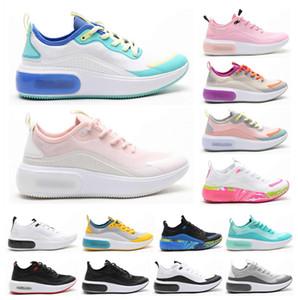Dia Se QS 2019 новый розовый красный белый кроссовки студенческая молодежь женская дизайнерская обувь Dias Se Racer женский тренер кроссовки размер 5.5-8.5