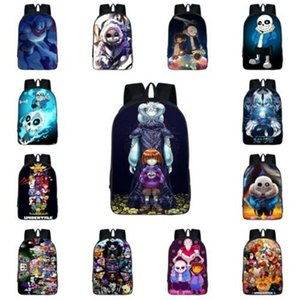 Les étudiants Undertale Sac à dos Sans Papyrus Cartoon College Cartable Polyester Bookbag Besace Voyage Laptop Rucksack Sac à main Sac besace