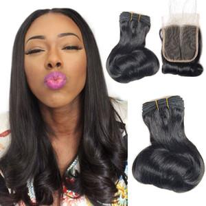 wholesale virgin bundle new design double drawn natural color funmi hair egg curly hair bundles extension with closure