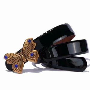 Luxus-Mode weibliche Keuschheitsgürtel Damen Designer Gürtel Diamant Schnalle Ledergürtel Frauen Gurtgroßverkauf freies Verschiffen
