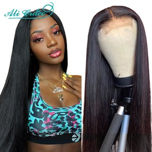 Ali Grace Straight Lace Closure Wigs 6x6 Closure Wig Human Hair Wigs With Baby Hair 4x4 Brazilian Lace Front Human Hair Wigs
