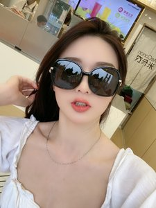2020Fashion joker plate frame glasses, top quality retro temperament polarized sunglasses, designer fashion classic men sunglasses3339