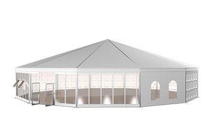 Tenda a padiglione multiside in stile pagoda per esposizione e feste in vendita
