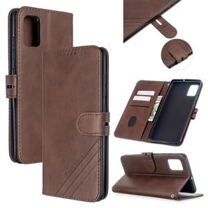 Для Samsung A51/A71/M30S Case мягкая кожаная крышка с джинсовой текстурой точные вырезы дизайн кошелька застежка-пряжка чехол для смартфона