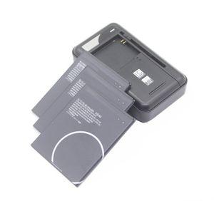 3x 3000mAh 11.4Wh KE40 sostituzione della batteria + caricabatteria universale per Motorola MOTO KE40 intelligenti Batterie per cellulari