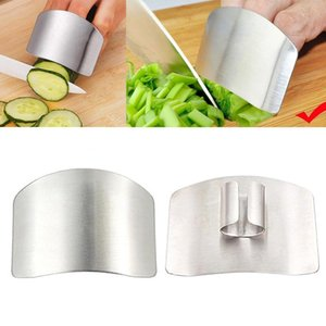 Finger Guard Protect Finger Hand Cut Hand Protector Knife Cut Finger Protection Tool Stainless Steel Kitchen Tool Gadgets