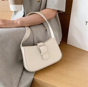 2 Colors Baguette Bags Simple Single Shoulder Armpit Women Bag Fashion Hand Carry Bag PH-CFY20051840