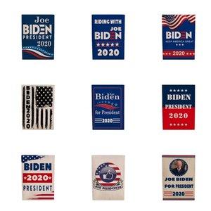 Biden 2020 Flag Sticker Set Donald Presidente Corpo de carro adesivos Mantenha a tornar a América Grande Partido Home Decor bandeira 5111 # 880