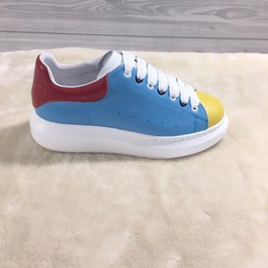2019 autumn new small white shoes female sponge cake sports shoes Korean leather thick bottom wild 0505082
