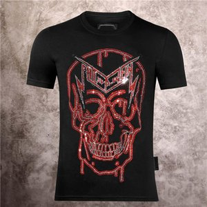Phillip Plain pp mens underwears boxers Mens Skull T-shirt Shirts High Quality printing t shirt Tees phillip plain tf21