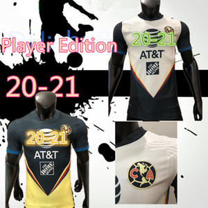 Player versione G. Dos Santos 20 21 casa dell'America gialla Maglia calcio R.SAMBUEZA P.AGUILAR 2020 2021 via Messico Club Football Shirt DONNE