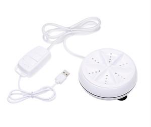 Caliente mini portátil de la turbina lavadora ultrasónica máquina de esterilización elimina la suciedad Lavadora Cable USB para hogar del recorrido del viaje de negocios
