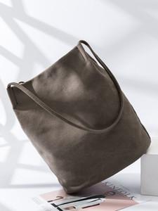 El algodón y el cáñamo literatura bolsa de cubo y el arte bolsa fresca pequeña bolsa de ocio sufeng original de las mujeres de gran capacidad