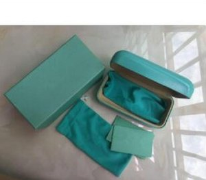 1 set Fashioin design more style sunglasses original case box eyeglasses brands sunglasses case box wholesale