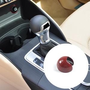 Red Car Styling Console Gearshift Handle Chefe armação de cobertura de fibra de carbono da etiqueta para o Audi A3 8V 2014-2018 Acessórios Interior