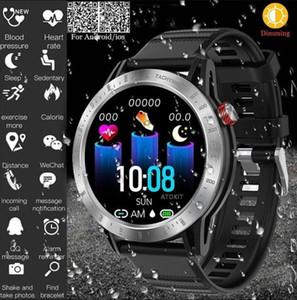 Timeowner Croce Smartwatch Uomini Donne Bluetooth impermeabile IP68 Pressione Sport frequenza cardiaca sanguigna Monitor Fitness Tracker per IOS Android