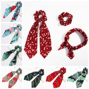 Accesorios Headwear turbante Scrunchies cinta lazos del pelo del arco DIY Serpentinas cola de caballo corbata abrigo de la cabeza de pelo de moda 30 Diseños opcionales DW4211
