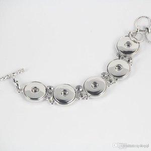 Новейший металлический сплав Noosa 5 кусков браслет регулируемая кнопка оснастки браслет имбирь оснастки медные браслеты женщины ювелирные изделия новое прибытие