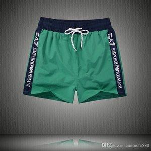 Alta qualidade calças praia Homens calças cortadas não vincado calções de praia lisas soltas Estilos Europian preços de fábrica M-XXL