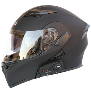 Motorradhelm Motorrad Bluetooth Helm Elektrofahrzeug 1200 mAh Akkulaufzeit