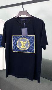 Hot Fishion Luxury Designer T Shirt Mens Women T Shirt Brand Short Sleeve Shirts Casual Men Clothing Street LOGO Embroidery Summer 2040702H