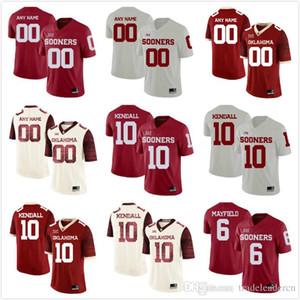 Oklahoma Sooners Name der benutzerdefinierten Männer Jeder Name Name Anzahl Personalisierte Kinder Mann Zuhause NCAA College Football Trikots