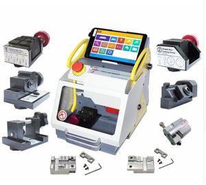 DHL Full Automatic SEC-E9 Key Cutting Machine Auto Key Programmer para todos los coches SEC-E9 Key Cutting Machine Silca Machine
