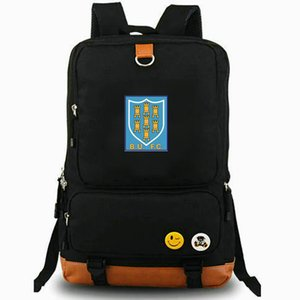 BUFC mochila Ballymena futebol clube daypack BU FC equipe de futebol laptop mochila Mochila De Lazer saco de escola Esporte Ao ar livre pacote de dia