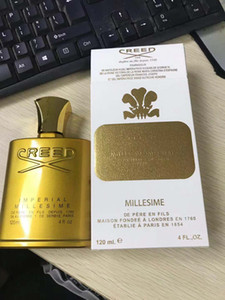 남성 여성 120ML 완벽한 향기 무료 배송 Hotselling 골든 에디션 크리 Millesime 제국의 향수 남녀 공용 향수
