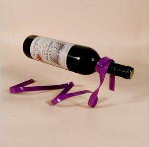 1PC Magic Asma Şerit Şaraplık Süspansiyon Şarap Yenilik Demir Raf Şişe Tutucu 2077 Bar Düğün Whisky KI Standı