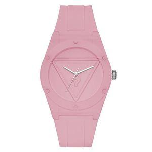 Marka kuvars bilek İzle Kadınlar Kız için üçgen soru işareti ile stil dial silikon kayış Saatler GS20