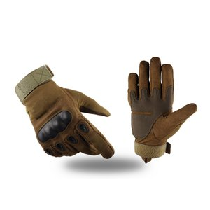 Professional Hard Knuckle Tactical Gloves Combat Motorcycle Cycling Riding Protective Glove Full Finger