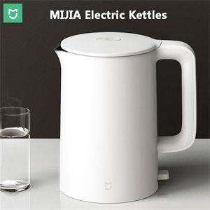 Xiaomiyoupin MIJIA Elektrikli Kettle 1A 1.5L Mutfak Paslanmaz Çelik İzolasyon Çaydanlık Akıllı Sıcaklık Kontrolü Anti-Aşırı ısınma koruma