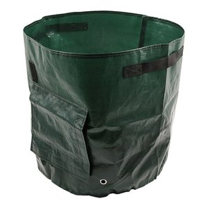 Woven Fabric Bags Potato Cultivation Planting Garden Pots Planters Vegetable Planting Bags Grow Bag Farm Home Garden PE Bag