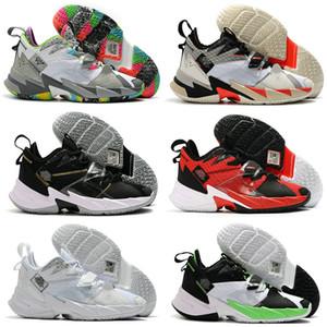 2020 nuovi pattini di Russell Westbrook III 3.0 Why Not Zero.3 Mens Basketball arcobaleno nero del grano del leopardo Jumpman Sport Sneakers dimensioni 7-12