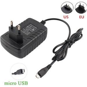 La alta calidad 5V de Micro USB adaptador de la fuente de alimentación 2a 3a .5a 2 de 5 voltios de alimentación Adaptador de Micro USB Conector de alimentación del cargador 5v 2a 3a 2 .5a
