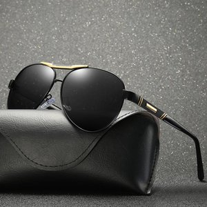 2018 Men Polarized Mirror Oval Sunglasses Black Lens Color Uv400 With Box,Case 2018 Men 2018 Men XFFss