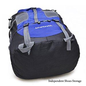 Outdoor Rucksack Camping Hiking Backpack Trekking 45L&50L Purple Waterproof Sports Bag Backpacks Bag Climbing Travel Rucksack