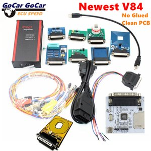 Newest V84 iPROG+ Iprog Pro Programmer Support 2019 Year Replace Carprog Digiprog Tango IMMO+Mileage+Airbag No Glued Clean PCB