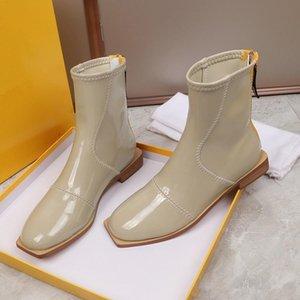 Горячая распродажа-последний 22 бренд Осень Зима Мартин Женские ботильоны обувь снегоступы сапоги из натуральной кожи