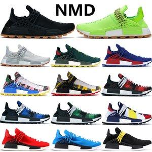 Ucuz NMD İNSAN YARIŞ Pharrell Williams erkek ve kadın ruh bilmek sonsuz türler Güneş Paketi Anne tasarımcı Moda Spor Ayakkabı 36-47