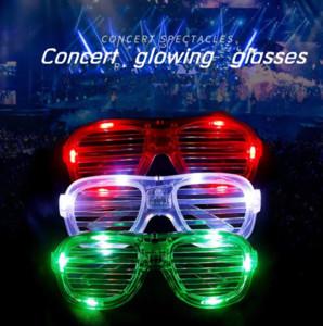 Vibrato deft net red shutters nightclub bar disco bar concave shape led light show spectacle glasses