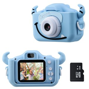 Günstige Punkt Shoot-Kameras Kinder-Kamera 1080P HD mit 32G-Karte 2,0 Zoll Farb-Bildschirm Dual-Selfie Videospiel-Kinder-Kamera