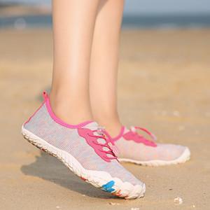 Аква обувь Быстросохнущих женщины тапок бассейн Тапочки резиновых воды обувь для пляжа Wading Boots Swim Ladies Shoe моря