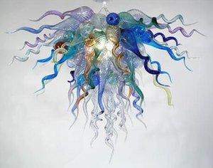 Hot Sale Handmade Blown Glass LED Chandeliers Hotel Art Decorative new Style Glass Chandelier Pendant Lamp
