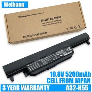 Weihang 5200mAh A32-K55 Akku für ASUS X45A X45A X45U X55U X55A X55U X55U X75 X75A X75A X75V X75V U57 U57A U57VD