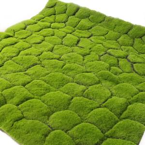 100cm Simulation Green Plant Wand Moss Turf Simulation Rasen Green Plant Szene Auslage Gefälschte Moss Artificial Lawn Masses C19041302